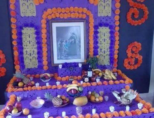 Festividad del día de muertos en el IJC